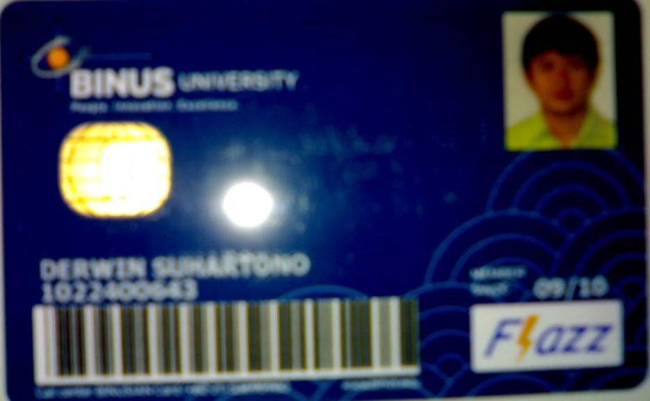 BINUS CARD S2